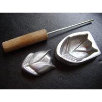 Kit Frisador Flores E Tecidos Em Alumínio Lançamento 2520 B