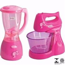 Kit Mini Utilidades Barbie Liquidificador E Batedeira 2181
