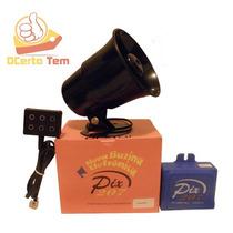 Buzina Engraçada Carro Falante Eletrônica Pixtar 7 Sons