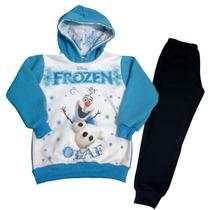 Conjunto De Moletom Infantil Com Frozem Olaf T. 2 Ao 8