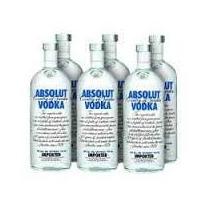 Vodka Absolut Natural Original Caixa Com 12 Litros