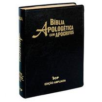Bíblia De Estudo Apologética Com Apócrifos 3@ Edição
