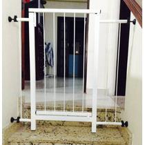 Portão Grade De Proteção Portas Crianças E Pets Portão Cães