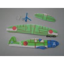 Kit Avião De Isopor Para Montar
