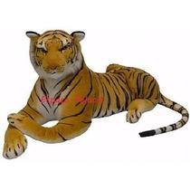 Tigre De Pelucia Real G 90 Cm Frete Gratis