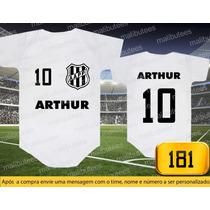 Body Ou Camisetas Times Ponte Preta Brasileiro Personalizado