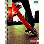 Caderno 1 Matéria 96 Folhas Linha Mais+ Skate 2016