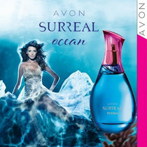 Perfume Surreal Ocean Avon Pronta Entrega 100ml