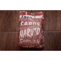 Carta Cards Naruto Shippuden Kit 50 Unidade Cada 1 Tem 4 Uni