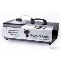 Maquina De Fumaça 1500w Dmx Skypix É Na )) G Y Iluminação ((