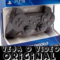Controle Ps3 Original De Verdade Lacrado Sony Dualshock 3