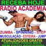 Rádio Academia Jump Musculação Step Bike +atualização Mensal
