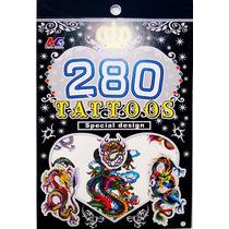 Tatuagem Temporaria Kit Festa Infantil Dragões Frete Gratis