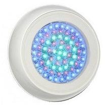 Iluminação Piscina Kit Comple 3 Refletores 42 Led Azul+fonte