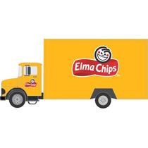 Adesivo Decalque Ad 373 143 Caminhao Mercedes Elma Chips