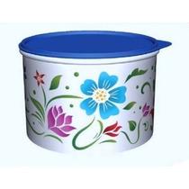 Tupper Caixa Flores Tropicais 2,4litros Tupperware