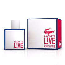 Perfumelacoste Live Edt. Men 100ml Original Lacrado