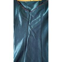 Vestido Longo Festa Ou Madrinha Azul Royal