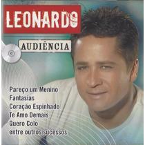Cd Leonardo Audiência 14 Grandes Sucessos Original