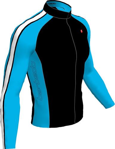 Casaco Inverno Ciclismo Bike Barbedo Manga Longa Mtb Speed 18688cd79df32