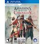 Assassins Creed Chronicles Psvita Ps Vita - Lacrado E-sedex