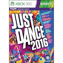 Jogo Novo Kinect Just Dance 2016 Dança Para Xbox 360
