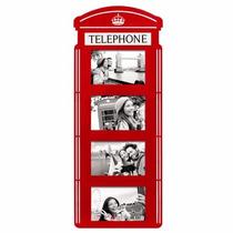 Porta Retrato De Parede Cabine Telefônica London Inglaterra
