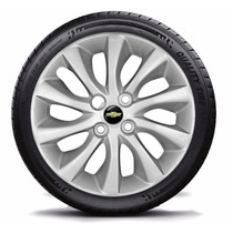 Jogo Calota Aro 15 Chevrolet Cobalt 2012 C/emblema Gm 4peças