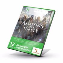 Cartão Xbox Live 12 + 1 Mes Conta Br Envio Digital