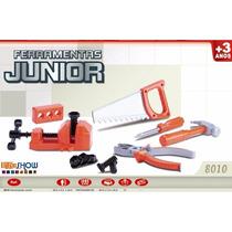 Kit Ferramentas Junior 19 Peças Infantil Brinquedo Sem Juros