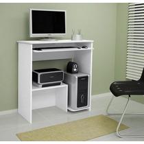 Escrivaninha Mesa De Computador Branca - Super Oferta