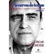 Livro As Curvas Do Tempo Memórias Oscar Niemeyer Livro Usado