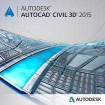 Autcad Civil 3d 2015 - 64 Bits Entregue Email/downl. + Curso
