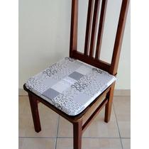 Almofada Assento Para Cadeira De Espuma Patchwork Floral