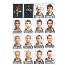 Figurinhas Campeonato Brasileiro 2013 Time Atletico Completo