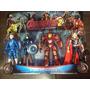 Bonecos Marvel The Avengers Kit C/4 Peças Grande 17cm