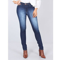 Calça Jeans Skinny Super Elástica Feminina Max Denim