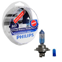 Kit Lâmpada Philips Crystal Vision Ultra H7 55w-12v 4300