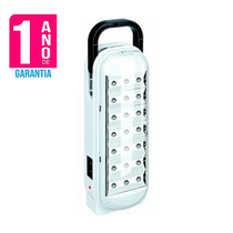 Luminaria Luz De Emergencia 21 Leds Com Alça Garantia 1 Ano