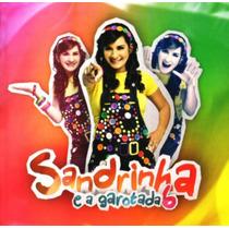 Cd Sandrinha E A Garotada 6 / Bônus Playback.