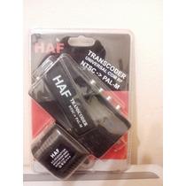 Transcoder De Ntsc Para Pal-m C/ Modulador Rf - Haf-567