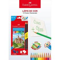 Material Escolar - Lápis De Cor 12 Cores - Faber Casell