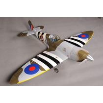 Aeromodelo Spitifire 61/91 Kit Arf Phoenix Model Trem Retrat