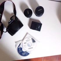 Canon Eos Rebel T3 + Lente Canon Ef 50mm F/1.8