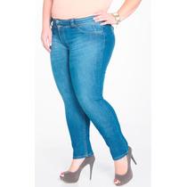Calça Jeans Feminina Plus Size Tamanho 56 Biotipo