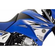 Kit Adesivos Yamaha Xtz 250 Lander 2011 Azul