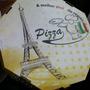 Caixa De Pizza Fotográfica Oitavada!!