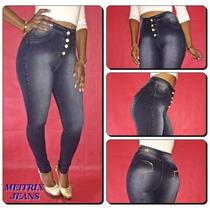 Calça Jeans Legging Meitrix E Rackso- C.alta Levanta Bumbum