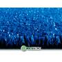 Tapete De Grama Sintética Azul Decoração Provençal