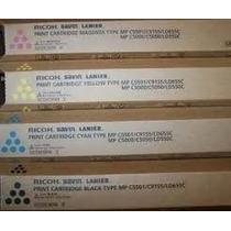 Kit De Toner Ricoh 5501 Original, Lacrado